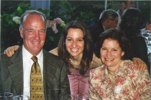 Pamela and parents