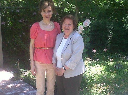 pamela and mom